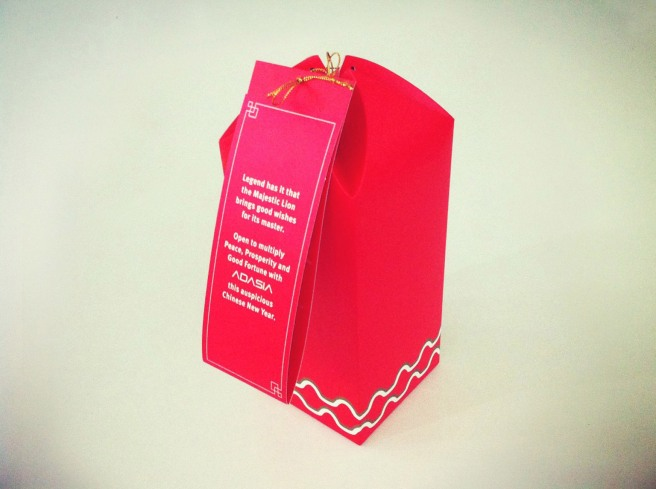It's a CNY gift pack for the agency's clients.